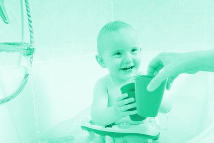 Badewannensitz für Babys