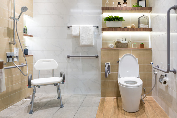 Badeinrichtung für Senioren