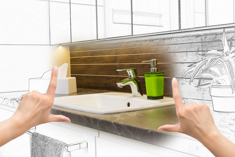 Badezimmerplanung mit 3D Software