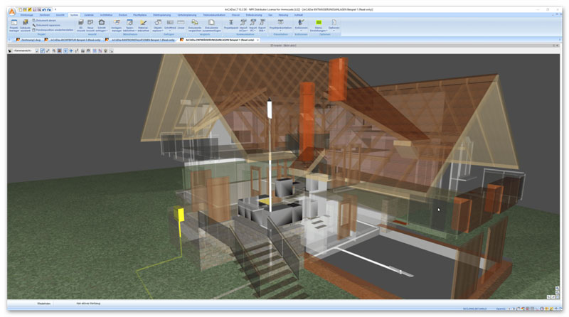 Badezimmerplanung mit 3D Software von ArCADia