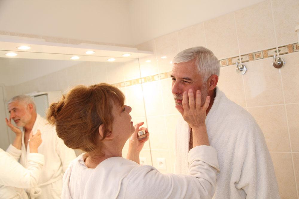 Körperpflege im Alter